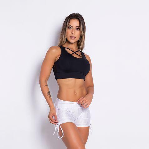 Short-Fitness-Brilho-Franzido