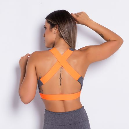Top-Fitness-Elastic-Gray