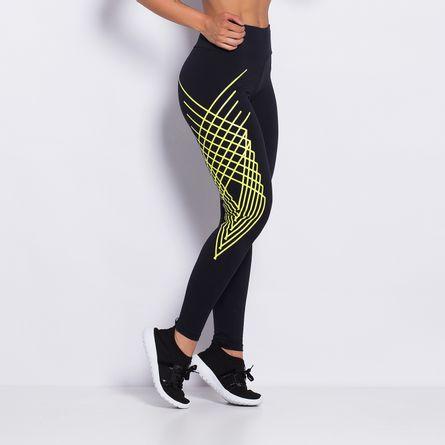 Legging-Fitness-Poliamida-Yellow-Style