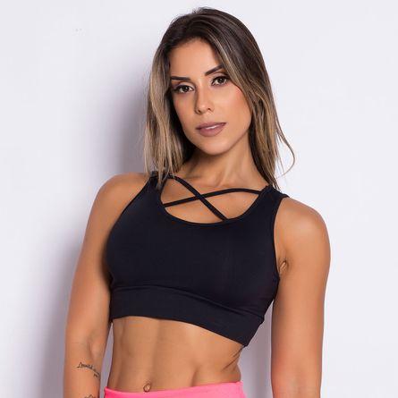Top-Fitness-Stripes-Black-