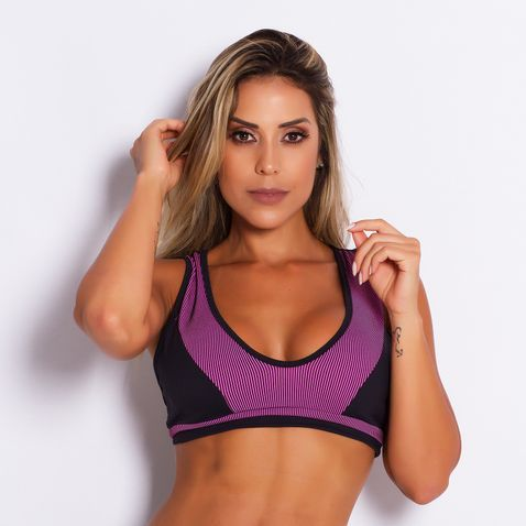 Top-Fitness-Poliamida-Stripes