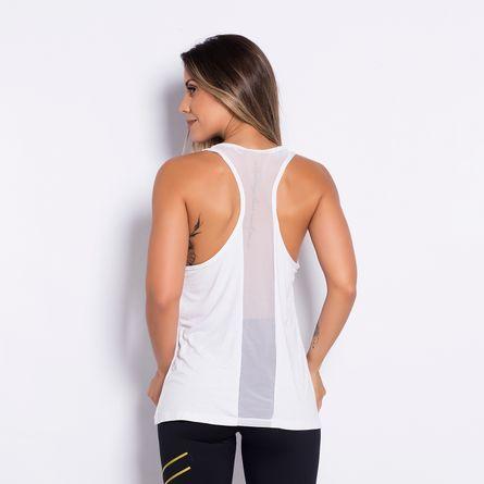 Camiseta-Fitness-Recorte-Tule