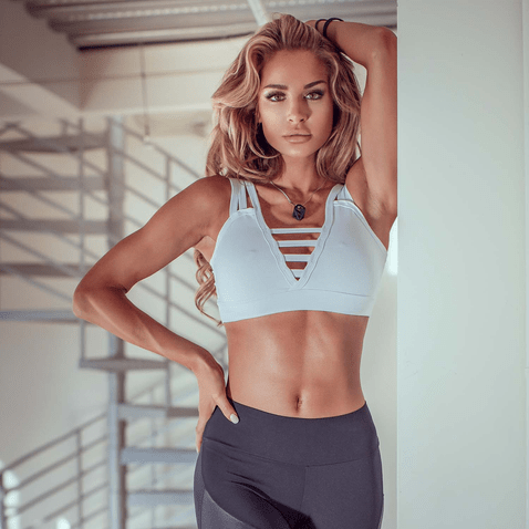 Top-Fitness-Poliamida-Stripes-White