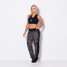 Calca-Fitness-Floral-Black