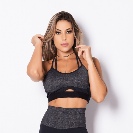 Top-Fitness-Shine-Black