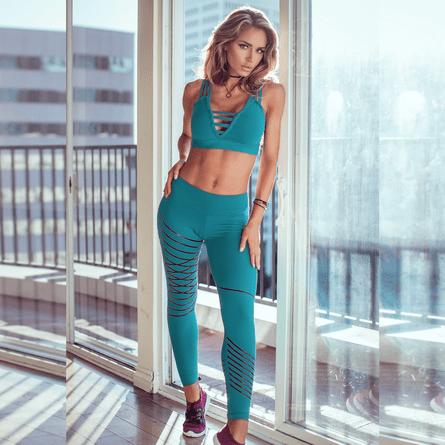 Calca-Fitness-Silver-Stripes