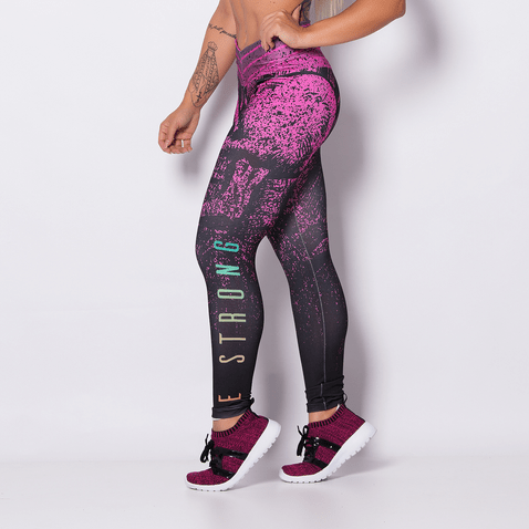 Calca-Fitness-Sublimada-Pink-Skull