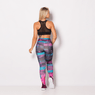 Calca-Legging-Sublimada-Stripes-Skull