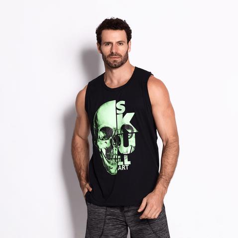 Regata-Masculina-Green-Skull