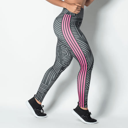 Legging-Fitness-Sublimada-White-Lines