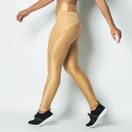Legging-Fitness-Poliamida-Brilho-Gold