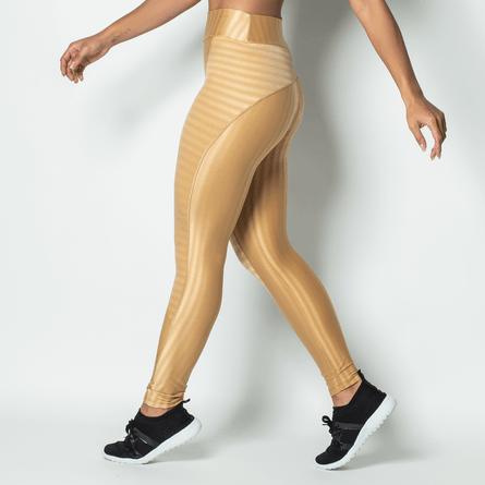 Legging-Fitness-Poliamida-Brilho-Gold