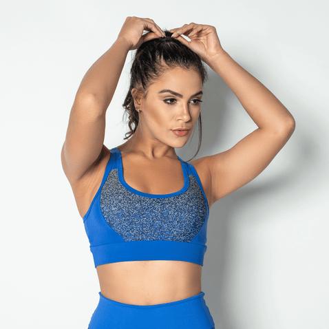 Top-Fitness-Poliamida-Jacquard-Blue