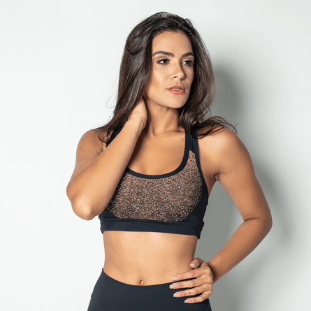 Top-Fitness-Poliamida-Jacquard-Red