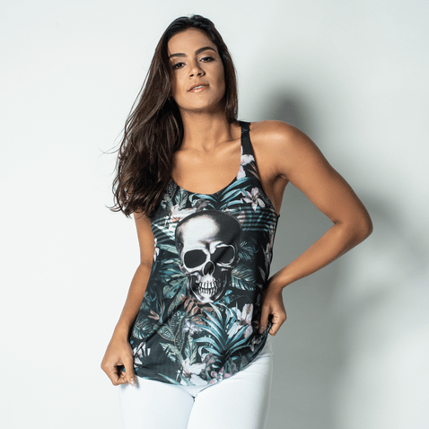 Camiseta-Fitness-Sublimada-Skull