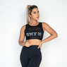 Top-Fitness-Poliamida-Tule-Black