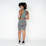 Bermuda-Fitness-Poliester-Gray