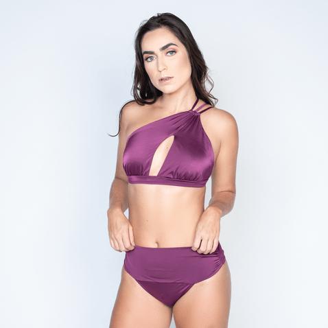 Biquini-One-Shoulder-Purple