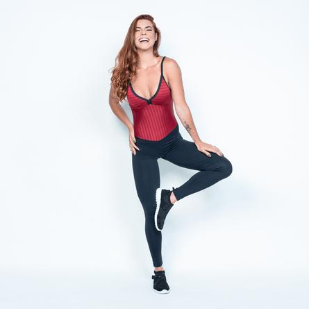 Macacao-Fitness-Textura-Vermelho