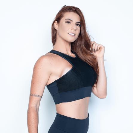Top Fitness Feminino de Academia no Atacado - Honey Be 19bed80b04d46