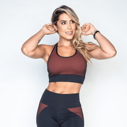 c43292b9d Top Fitness Feminino de Academia no Atacado - Honey Be