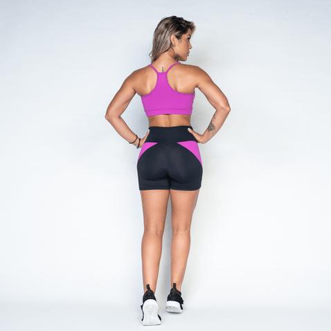Short-Fitness-Triangular-Roxo