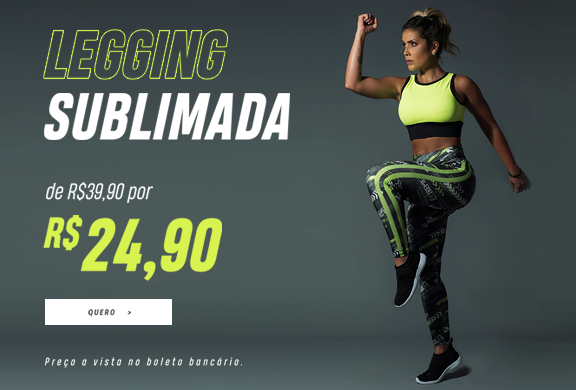 legging sublimada direita