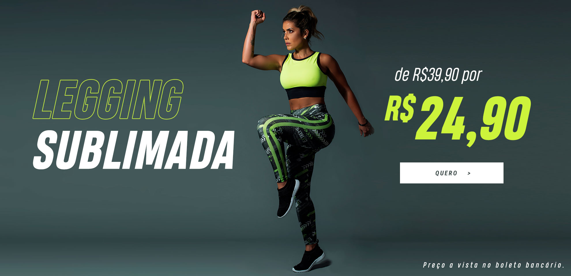 Legging sublimada