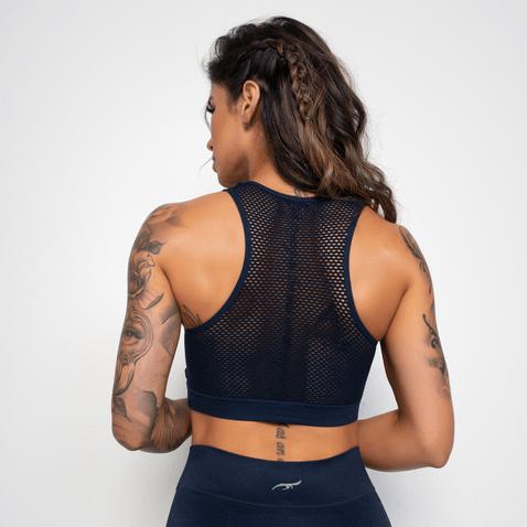 Top-Fitness-Croche-Sem-Costura-Com-Bojo-Azul-Marinho