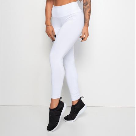Legging-Fitness-Branca-Poliamida-Lisa-LG1228