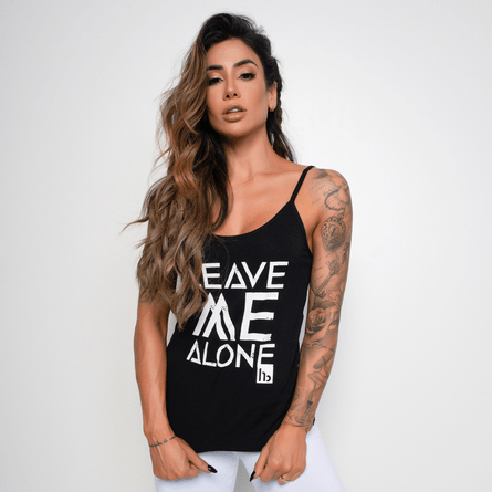 Camiseta-Fitness-Viscolycra-Leave-Me-Alone-Preta-CT304