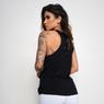 Camiseta-Fitness-Viscolycra-Excuses-Preta-