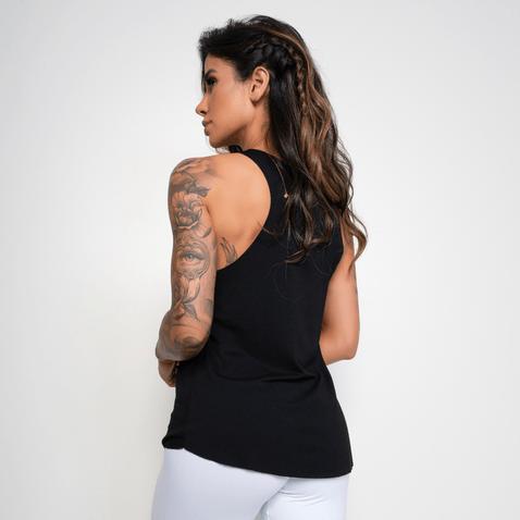 Camiseta-Fitness-Viscolycra-Woman-Preta
