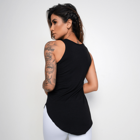 Camiseta-Fitness-Viscolycra-Honey-Girls-Preta-CT296