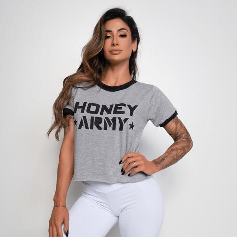 Cropped-Fitness-Mesclado-Honey-Army-CR040