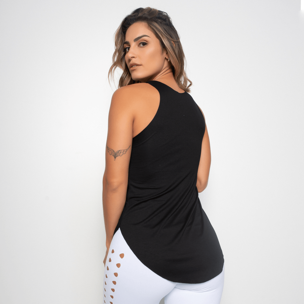 Camiseta-Fitness-Preta-Viscolycra-To-Indo-CT345