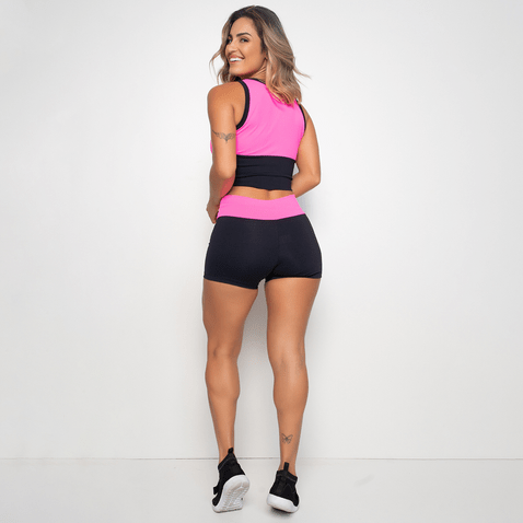 Short-Fitness-Dual-Colors-Pink-SH109