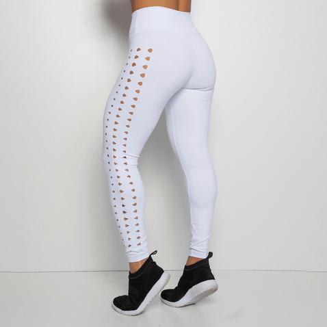 Legging-Fitness-Branca-Poliamida-Laser-LG1242-