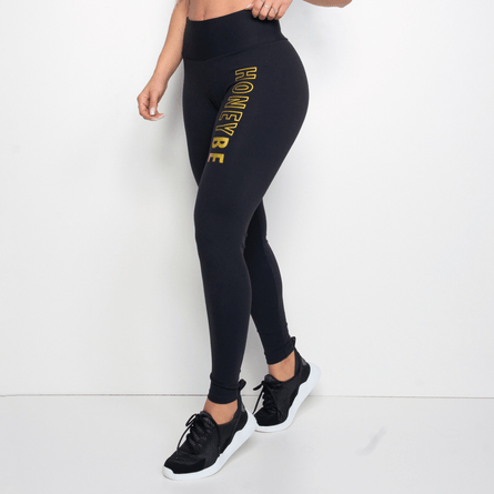 Legging-Fitness-Preta-Poliamida-Honey-Be-LG1250