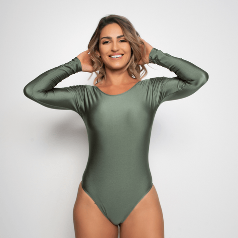Body-Fitness-Verde-Trilobal-Elastic-BY157-