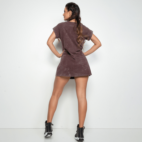 Vestido-Fitness-Marmorizado-Marrom-VT049