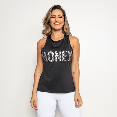 Camiseta-Fitness-Honey-Preta-CT308-