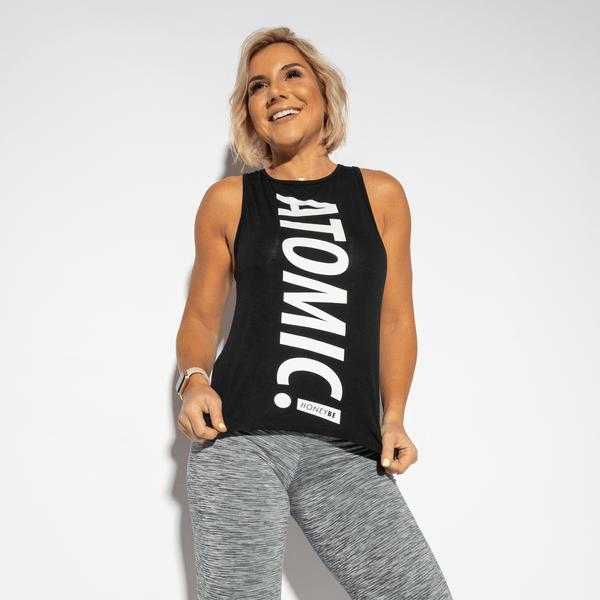 Camiseta-Fitness-Atomic-Preta-CT399