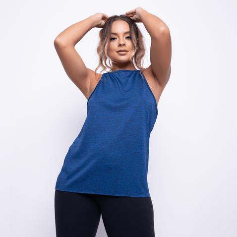 Camiseta-Fitness-Mesclada-Azul-Escuro-CT386