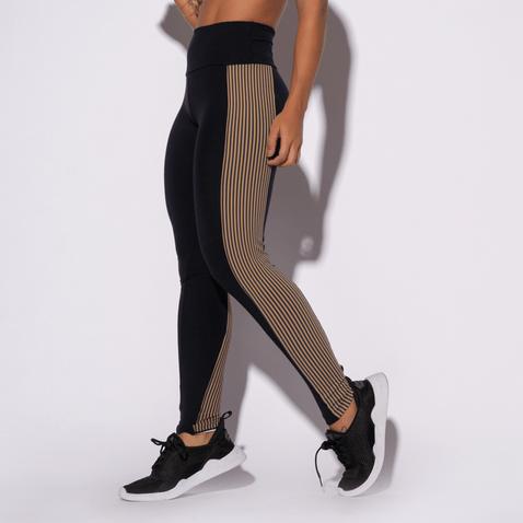 Legging-Fitness-Preta-Listras-Marrom-LG1384