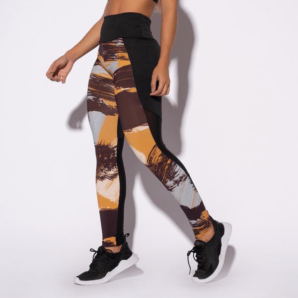 Legging-Fitness-Preta-Estampada-Desert-LG1345