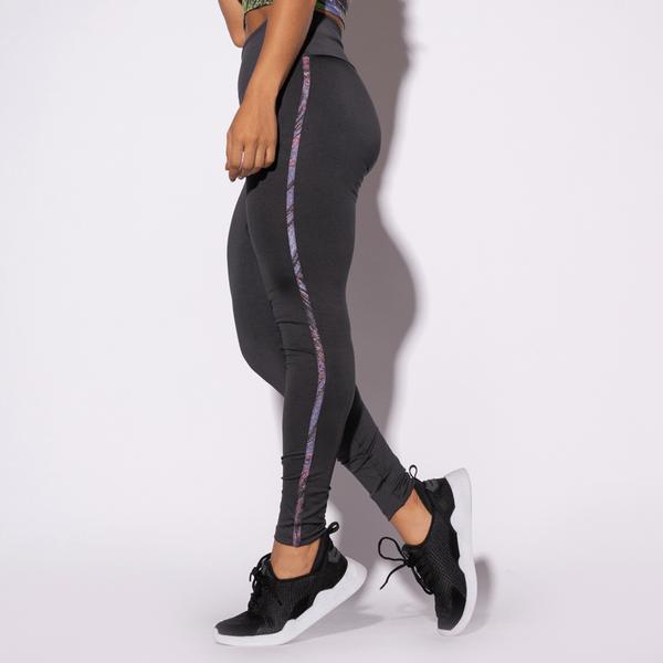 Legging-Fitness-Vivo-Cinza-Listras-Colors-Roxa-LG1396