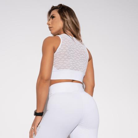 Top-Fitness-Branco-Tule-TP688