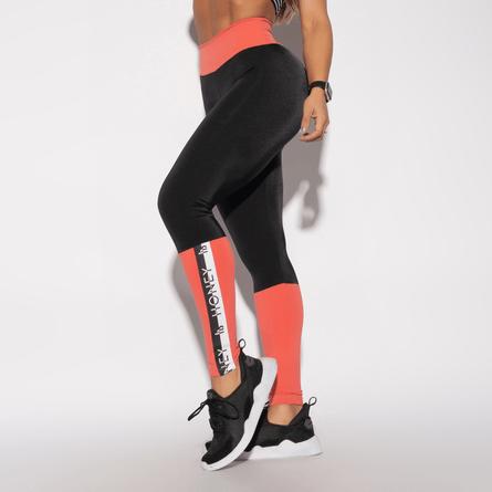 Legging-Fitness-Laranja-Poliamida-Elastico-LG1331