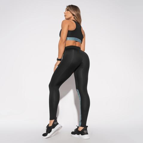 Calca-Fitness-Preta-Elastico-Honey-LG1343
